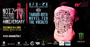 8.12 Afu-Ra (NY) x Taburo Bota x Novel 729 x The VoCults | Tres Athens