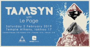 2.2 TAMSYN w/ Le Page | Temple Athens